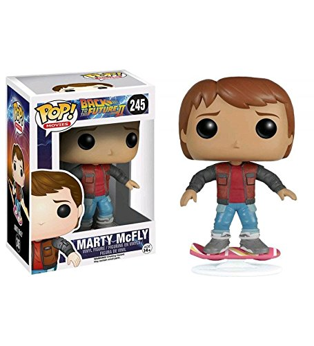 Back To Future Hoverboard (Funko Pop Movies Back To The Future 2 Marty McFly On Hoverboard Exclusive Vinyl)