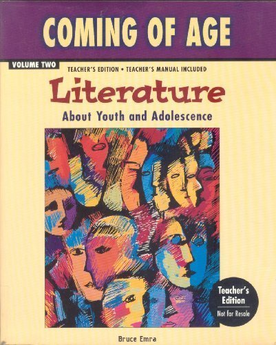 Coming of Age: Literature About Youth and Adolescence (Volume 2)