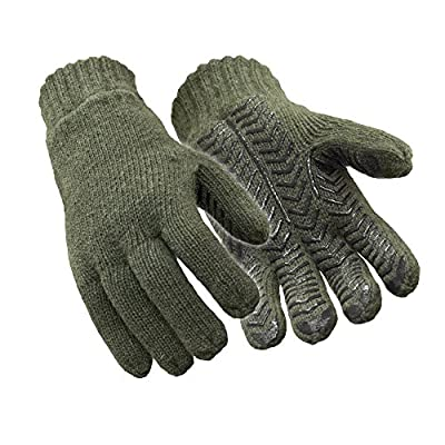 RefrigiWear Insulated 100% Ragg Wool Grip Gloves