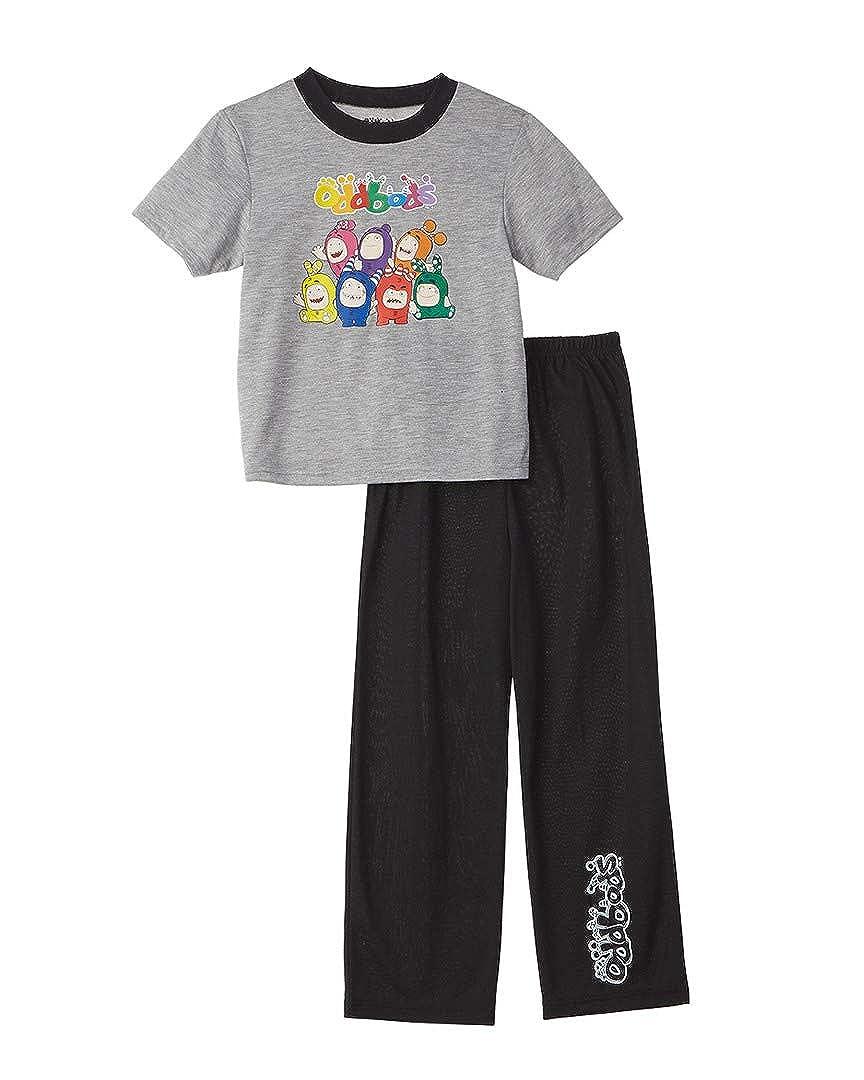 8 Character Sleepwear Boys Oddbobs 2Pc Pajama Set