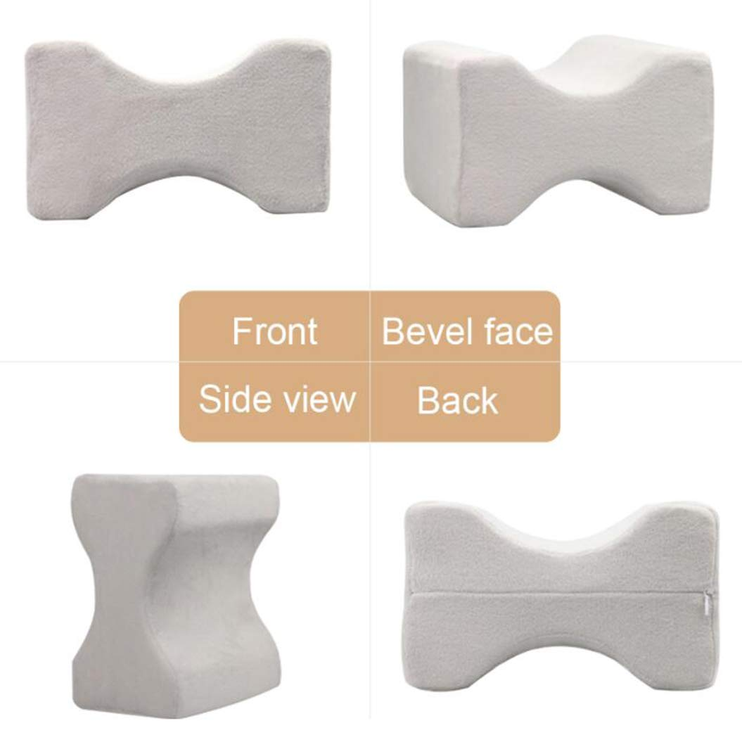 A, Light Blue Premium Orthopedic Sciatica to The Hip Pain Relief Thigh Leg Support Knee Cushion for Sleeping Memory Foam Pillow