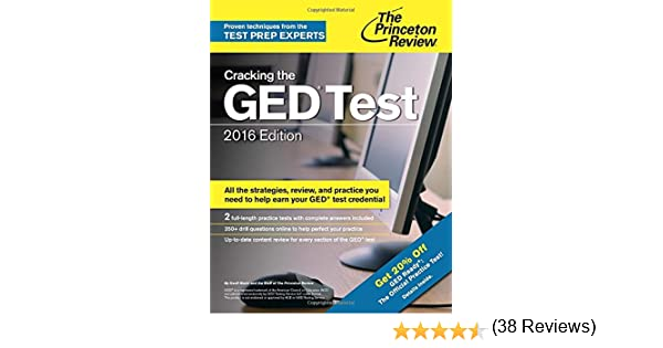 Cracking the GED Test with 2 Practice Exams, 2016 Edition (College ...