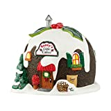 Department 56 North Pole Village Santa's Little Cakes Light House, 4.65 inch