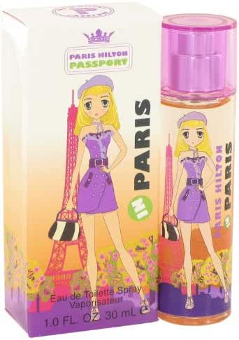 Paris Hilton Passport In Eau De Toilette Spray, 1 Ounce