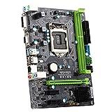 KKmoon MAXSUN MS-B85DL Desktop Computer Mainboard Motherboard System Board Turbo for Intel B85 LGA 1150 Socket SATA 6Gb/s USB 3.0 Games DDR3 mATX Main Circuit Base Board