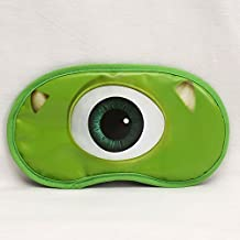 CJB Monster University Mike Eye Mask for Sleeping Travel Games Green (US Seller)