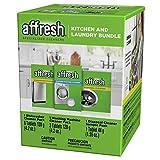 Affresh Kitchen and Laundry Bundle - Dishwasher, Washing Machine, and Disposal Cleaner
