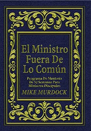 El ministro fuera de lo com n spanish edition kindle for Fuera de lo comun