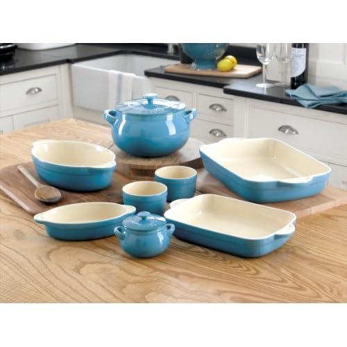 Denby Oven to Table Medium Oblong Casserole, Blue