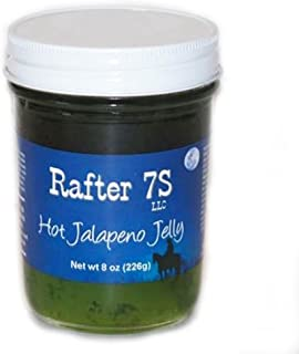 product image for Rafter 7S Hot Jalapeno 8 oz Jelly - Gluten Free - No Preservatives - No Corn Syrup - Made with Fresh Nebraska Fruit