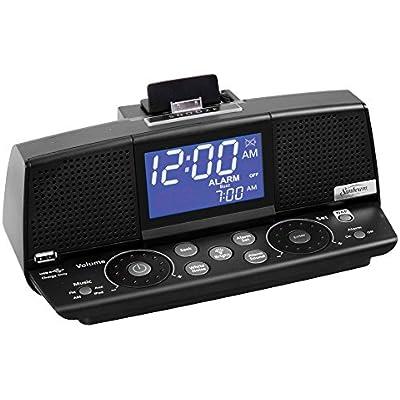 sunbeam-alarm-clock-radio-ipod-aux