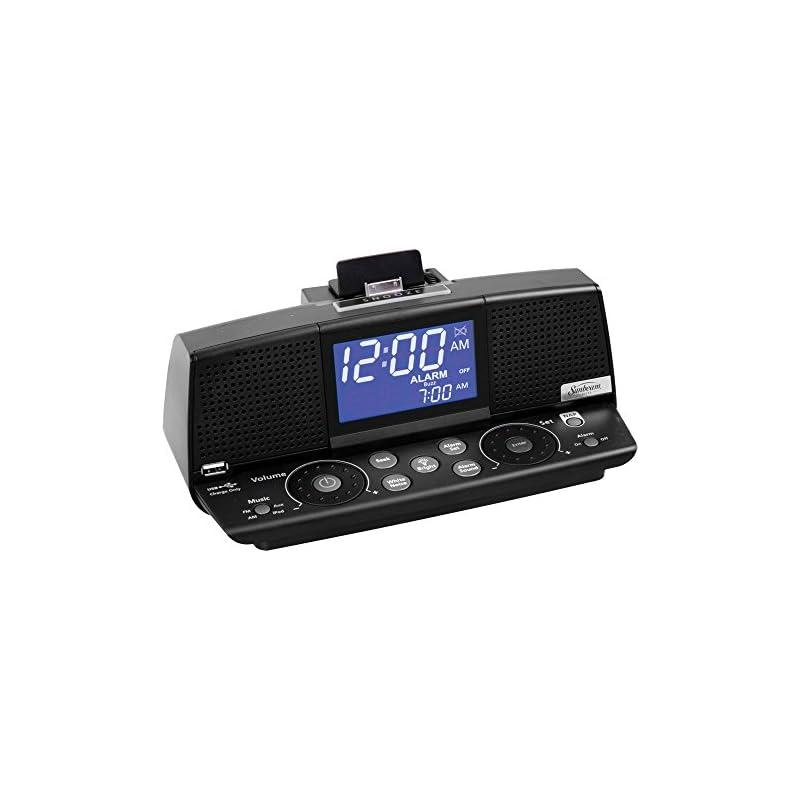 Sunbeam Alarm Clock,Radio,iPod,AUX