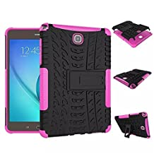 Galaxy Tab A 8.0 Case, Lanstyle Hybrid Heavy Duty Armor Protective Case with Kickstand for Samsung Galaxy Tab A 8.0 [SM-T350]