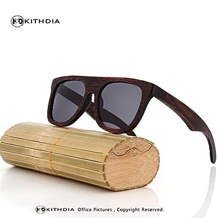 92cfaa24ff BuyWorld KITHDIA Wood Sunglasses Men Brand Designer Polarized Driving  Bamboo Sunglasses Wooden Glasses Frames Oculos De Sol Feminino  Amazon.in   Home   ...