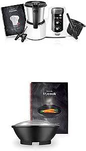 Taurus Mycook Easy - Robot de cocina por inducción + Taurus Vaporera Mycook - Conjunto de cocción al vapor y recetario: Amazon.es: Hogar