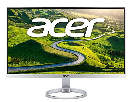Acer H277HK smidppx 27'' 4K Ultra HD (3840 x 2160) 100% sRGB wide color gamut IPS Monitor with AMD FREESYNC (DisplayPort, Mini DisplayPort, HDMI&DVI) by Acer