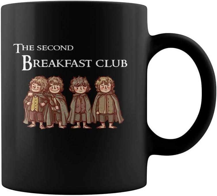 Lplpol The Second Breakfast Club Taza de caf/é 12 onzas