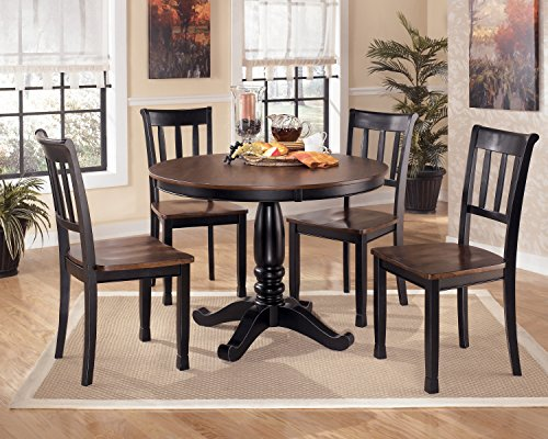 Signature Design by Ashley Owingsville Casual Dining Room Set with Dining Table and 4 x Dining Chair