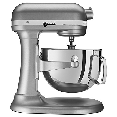 KitchenAid  RKP26M1XSL Professional 600 6-Qt. Bowl-Lift Stand Mixer, Certified Refurbished by KitchenAid