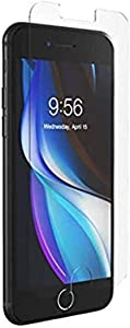 ZAGG InvisibleShield Glass+ Screen Protector – High-Definition Tempered Glass Made for Apple iPhone SE – Impact & Scratch Protection