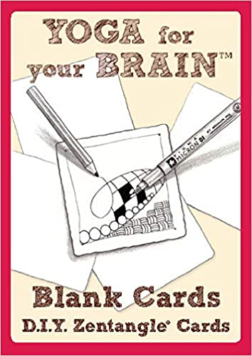 Yoga for Your Brain - 20 Blank Tangle Cards: Amazon.es ...