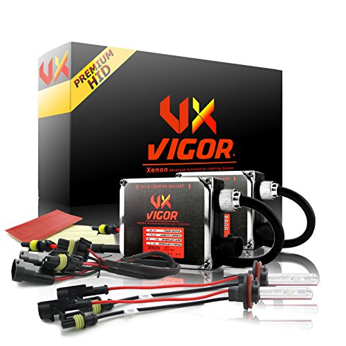 "Vigor 9007 ( HB5 ) Single Beams Xenon Hid Conversion Kit ( 10k 10000k Deep Blue / Dark Blue ) "" Premium Ballasts *Improved* ""Two Bulbs Two Ballasts All Bulbs Sizes Colors Hids light Kits"