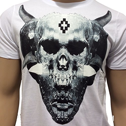 MARCELO BURLON Herren T-Shirt weiß Bianco