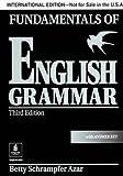 FUNDAMENTALS OF ENGLISH GRAMMAR (3E/INT) : SB+AK (AZAR)