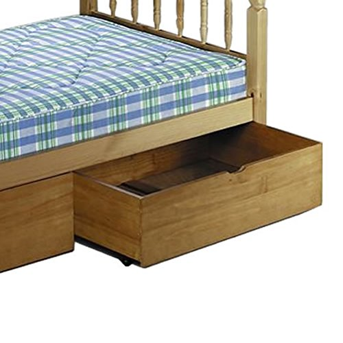Under Bed Drawer On Wheels For Julian Bowen Bed Frame Solid Pine