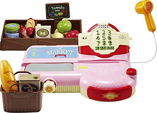Register for Kids With Sounds Scanner Toy Food Set Develop Calculation Skills And Supermarket Play Shopping Playset, Toy Cashier, Toy Cash register ()