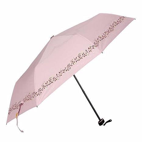Paraguas - Negro De Cola, Doble Propósito Paraguas, Sun Protection Paraguas, Paraguas De