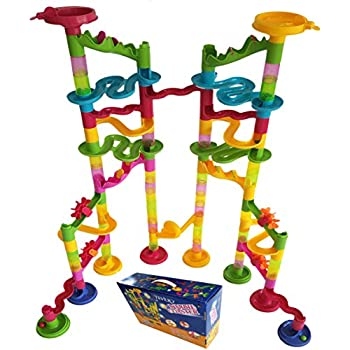 Amazon Com Marbleworks 174 Marble Run Starter Set By