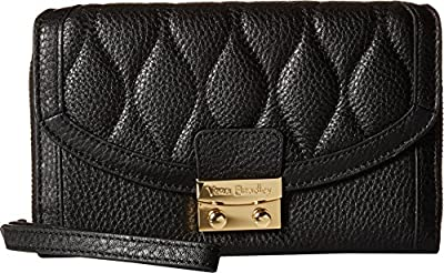 Vera Bradley Women's Ultimate Wristlet Black Clutch