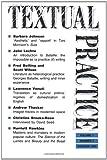 Textual Practice, , 0415096561
