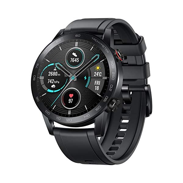 HONOR Smartwatch Magic Watch 2 46mm, 14 Giorni in Standby, con Cardiofrequenzimetro, modalità di Esercizio, GPS, Fitness… 1