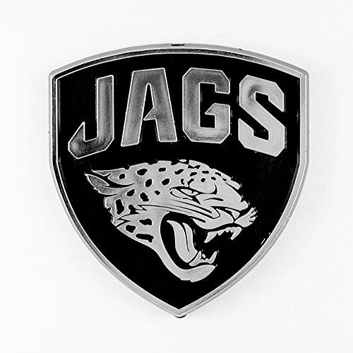 NFL Jacksonville Jaguars 3d Chrome Car Emblem by TPM