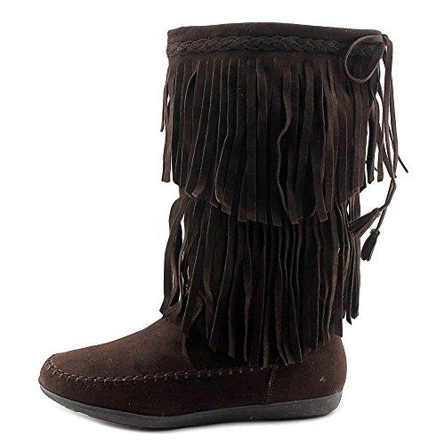 Rampage CANTRELL, Fashion Stiefel Frauen, Runder Zeh Dark Brown