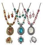 Avon Beaded Chain Medallion Gift Set