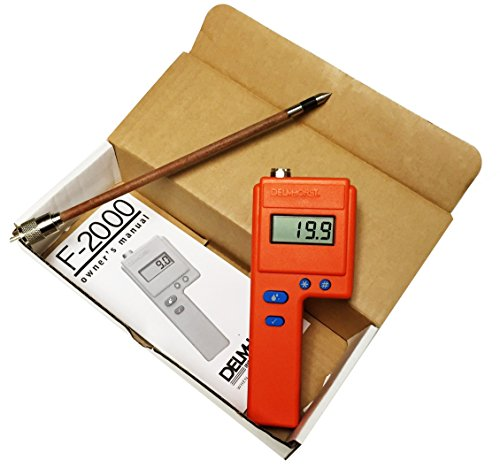 Delmhorst F-2000/1235 F-2000 Hay Moisture Meter, 1235 10' Probe Value Package