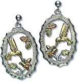 Landstroms Silver Hummingbird Earrings, for Pierced Ears - 01596SS