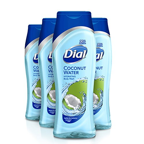 Dial Body Wash, Coconut Water, 21 Ounce (Pack of - Body Coconut Hydrating Wash