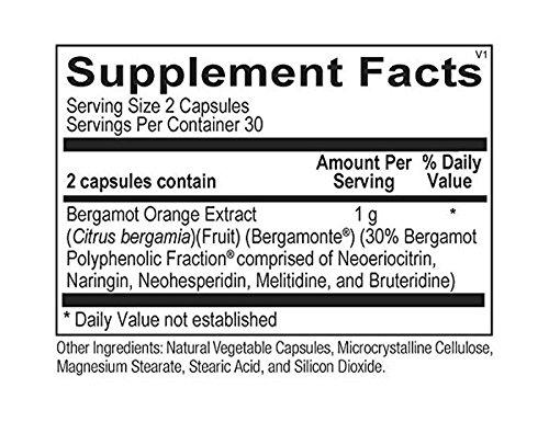 Ortho Molecular Products Bergamot BPF Capsules, 60 Count
