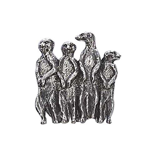 Peint à la main ~ Tête de Loup ~ Pin's (épinglette/Broche ~ mp041