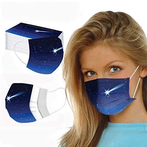 🥇 TropBox Protección 3 Capas Transpirables con Elástico para Los Oídos Pack 50 unidades TROPBOX-AT50