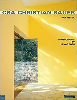 CBA Christian Bauer Portfolio