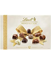 Lindt Prestige Selection Chocolate - 345g - A Joy to give, a Delight to Receive - A Selection of The Finest Milk, Dark and White Chocolates.
