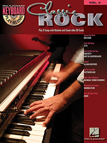 Classic Rock Volume 3 Bk/CD (Hal Leonard Keyboard Play-Along)