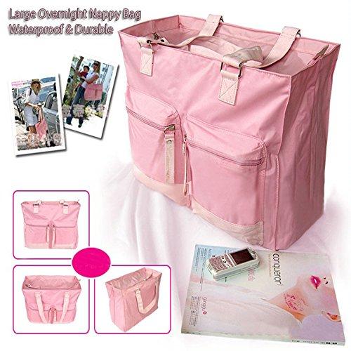 Babyhugs® Lujo Grande Resistente al agua Hospital noche bolsa cambiador para pañales bolsa de pañales