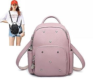 Girls Womens Casual Stylish Trendy MiNi Small Casual Backpack Travel  Daypack Casual Mini Small Backpack Backpacks Daypack for Womens Women s  Gilrs Kids ... 2148df6416