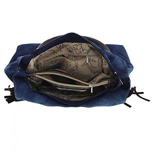 Fashion Boots Tasche APOLINAR RCT-869 Brown Damen Tragetasche zsF5wplyWd